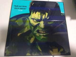 Hulk Pop Art Frame