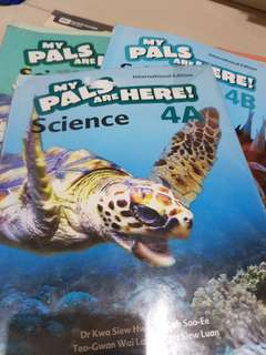 MY PALS are here Science 4A 4B /Activity book 4A 4B/ 5A 5B