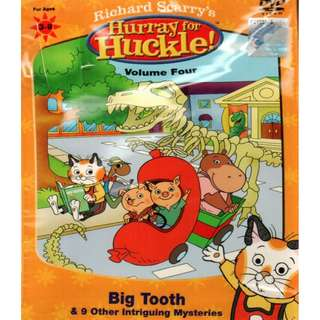 Richard Scarry's Hurray For Huckle! Big Tooth Vol.4 DVD