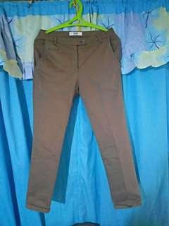 Khaki Male Pants
