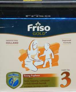 Friso 3 (3x400g) Milk Powder