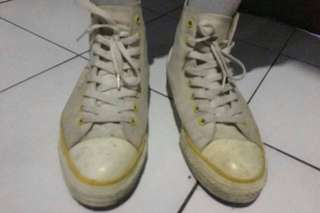 Converse CT white strip yellow