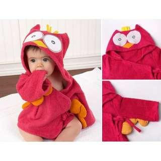 Baby Owl Bathrobe #July70