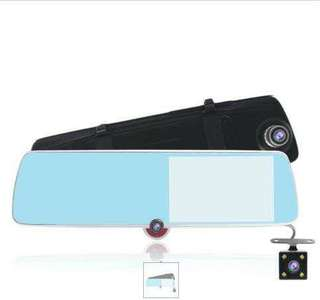 3 way dashcam