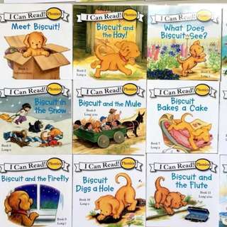 I can read 24books - biscuit series