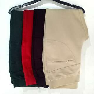 7/8 Pants (dark red only)