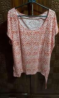 Kaos orange bigsize / jumbo