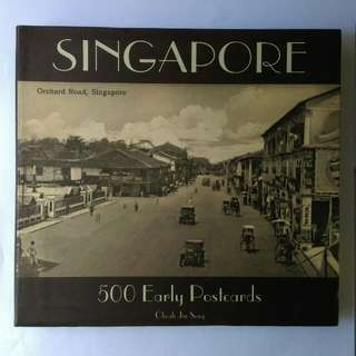 SINGAPORE 500 EARLY POSTCARDS