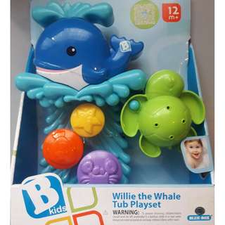 BKids -  Willie the Whale Tub Playset