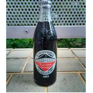 83年美國Tacoma Dome可口可樂紀念玻璃樽一枝