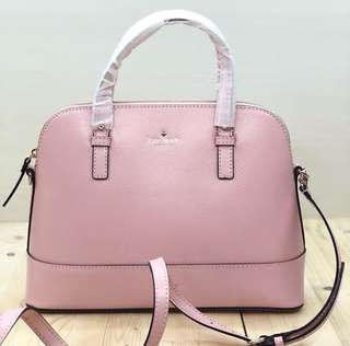 kate spade small rachelle grand street colorblock Rose Jade size is 31x24