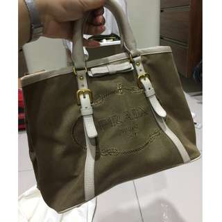 Prada sling Handbag with handle