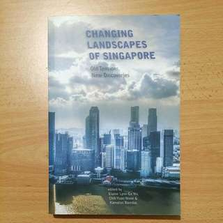 Changing Landscape Of Singapore, GEK2001, SSA2202, GES1003