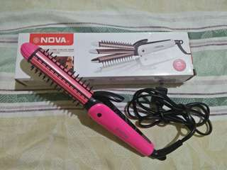 NOVA 3 in 1 Curler and Straightener (Preloved)