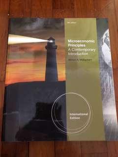 Microeconomics Principles 9th edition