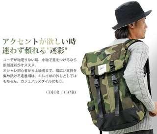 日本 Anello Headcap 背囊 大容量 尼龍 返學背囊 backpack