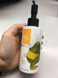 Papaya exfoliator
