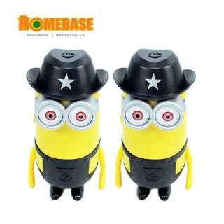 HOMEbase Mini USB fan Banana King * 2 Pcs - Black -