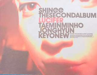 SHINee The Second Album Lucifer