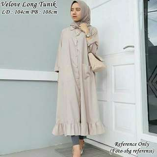 Velove Long Tunik