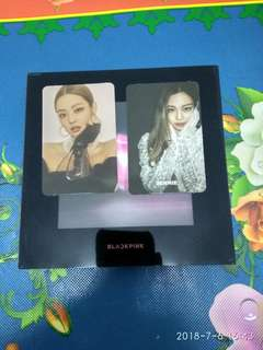 WTS BLACKPINK SQUARE UP JENNIE BLACK SET