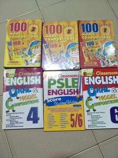 Primary school Compo and oral books