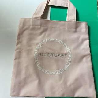Jill Stuart 品牌刺繡便攜手挽袋