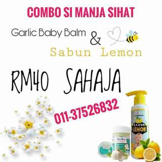 sabun lemon & Garlic Balm