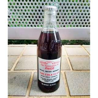 76年美國Special Review Show Cola Clan可口可樂紀念玻璃樽一枝