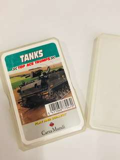 Tanks - Top Ace Trumps Cards