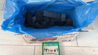 Coal for bbq cooking- approximately 2 kilos