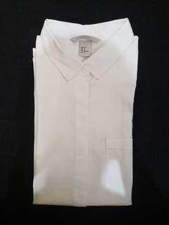 H&M White Shirt ORI