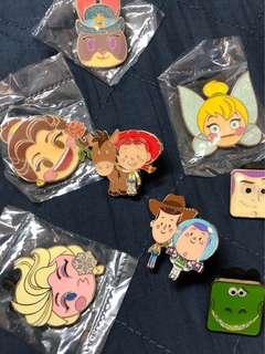 迪士尼襟章 徽章 disney pin