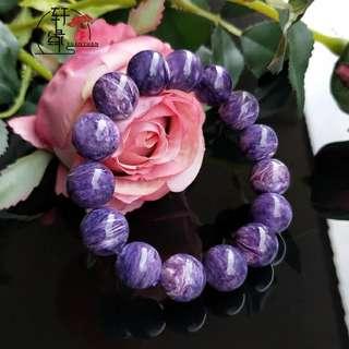 紫龍晶手串 13mm