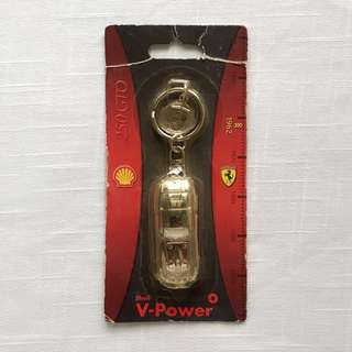 Shell V-Power Ferrari 1962 250 GTO Keychain