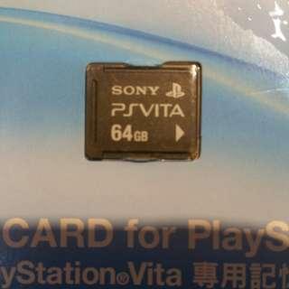 Vita 64GB memory card