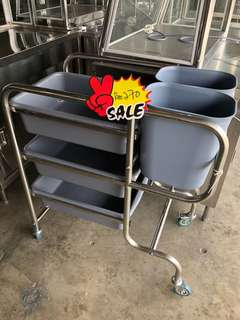 Collecting Cart for Dishes