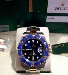 ROLEX 116613LB 『『金鋼藍藍』』