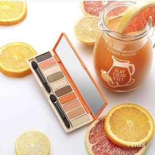 Etude house juice bar eyeshadow palette