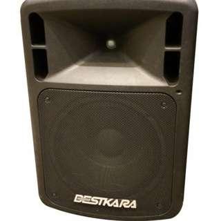 Karaoke Set BESTKARA DP-102D Portable PA system