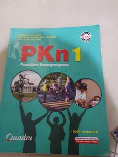 PKN 1 SMP VII / BAHASA INDONESIA 1 SMP VII