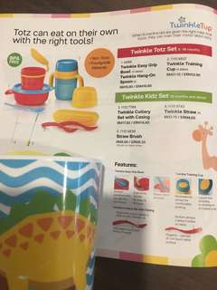Tupperware Twinkle Kids Products