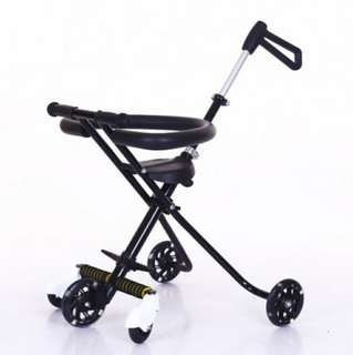 5 wheels magic stroller