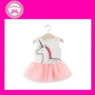 🎊NEW ARRIVAL! Instock Babies & Kids Unicorn Tulle Dress