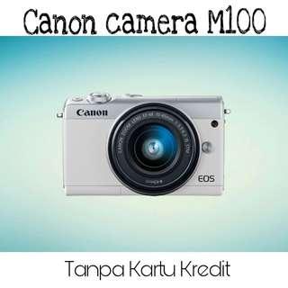 Kredit camera conon M100