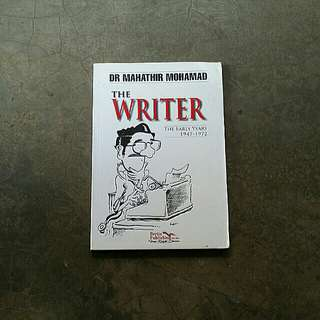 The Writer - Dr Mahathir Mohamad