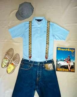 🇯🇵日本製Munsingwear Polo Shirt (日本悠閒紳裝風格)