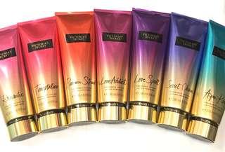Victoria's Secret Fragrance Lotion 236ml - Romantic, Temptation, Passion Struck, Love Addict, Love Spell, Secret Charm & Aqua Kiss
