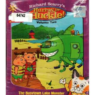 Richard Scarry's Hurray For Huckle! The Busvtown Lake Monster Vol.2 DVD