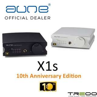 Aune X1s 32Bit/384Khz DSD Desktop Headphone Amplifier & USB DAC